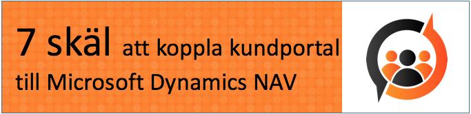 7 skäl att koppla kundportal till Microsoft Dynamics NAV
