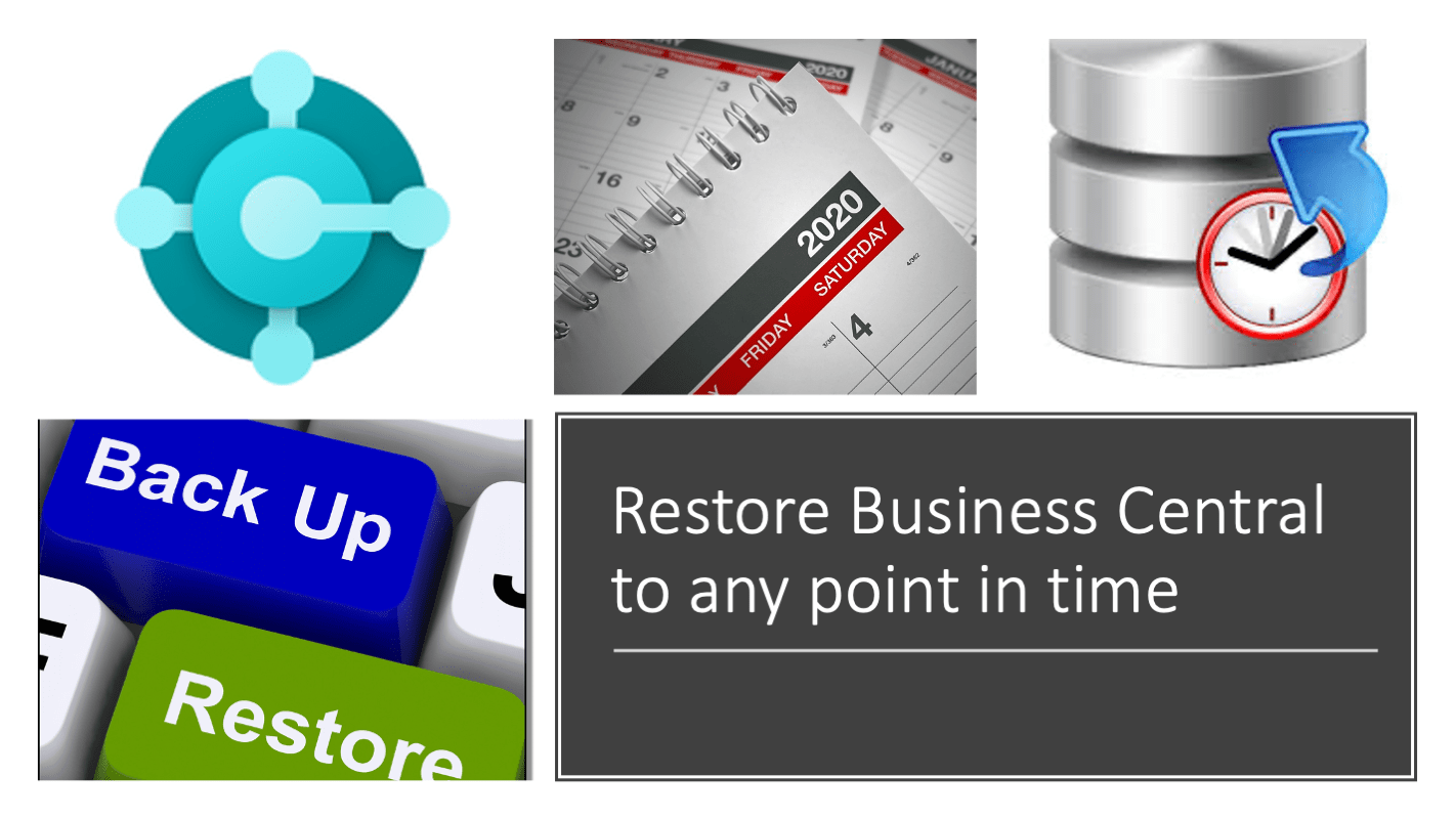 Restore Business Central to any point in time